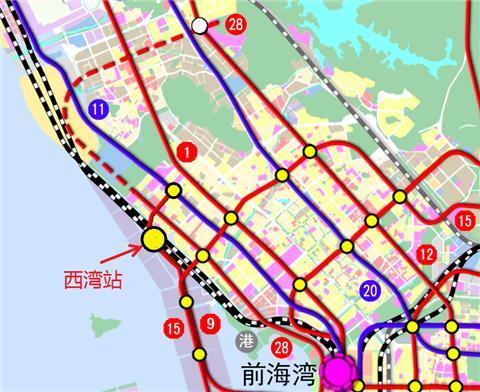 深圳西湾公园规划图