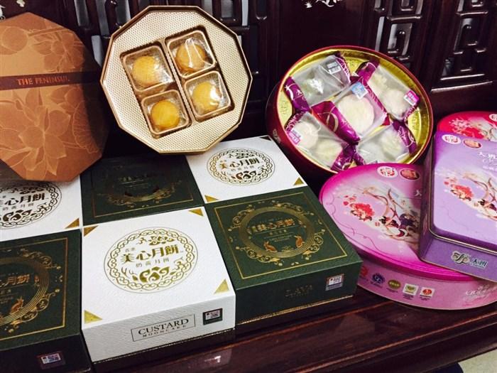 香港半岛,美心月饼