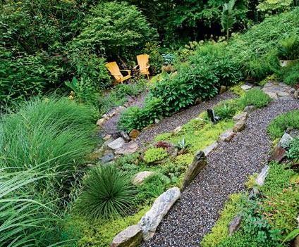 长沙坡形别墅庭院设计哪家公司好,湖南浦天景观