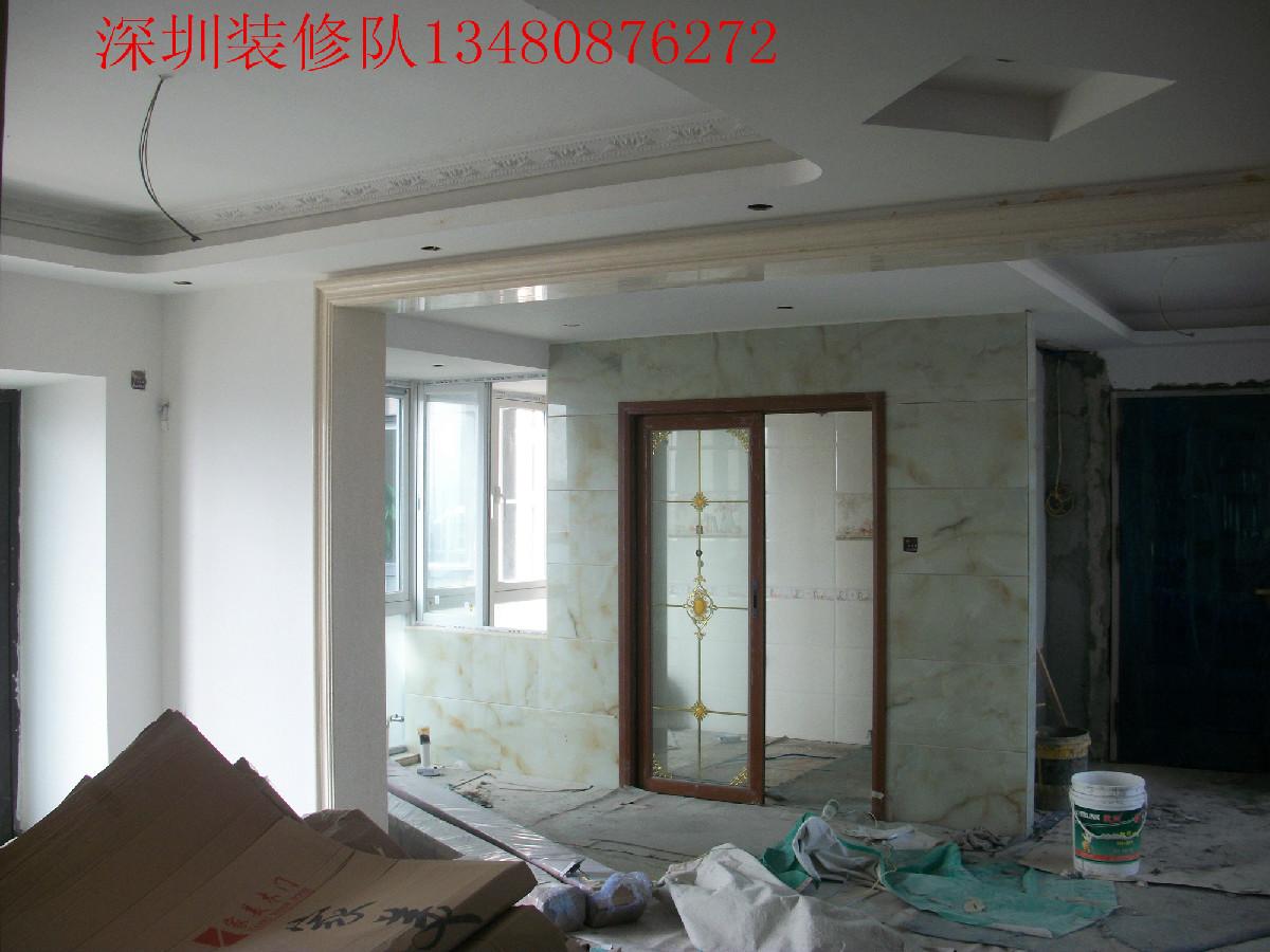 石膏板墙包门套及室内吊顶造型等