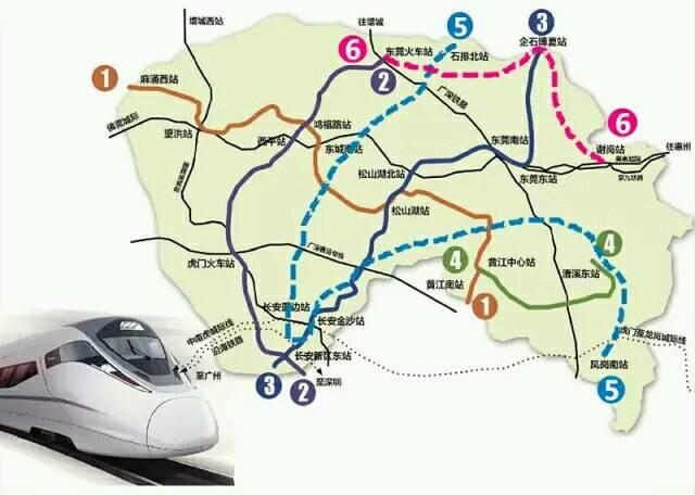东莞大慨地铁线路图,r2号线目前是已经运行中