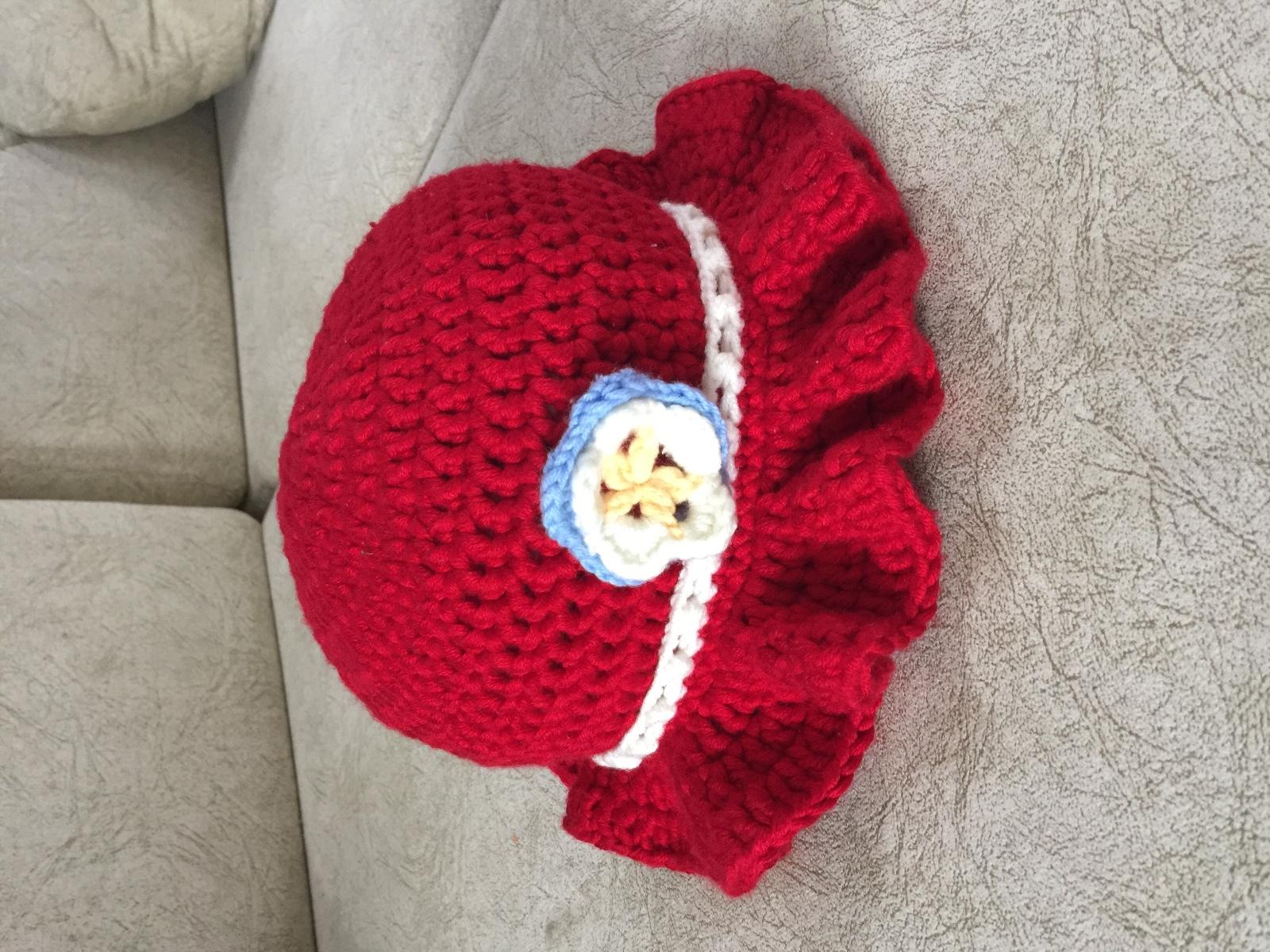 手工编织帽子