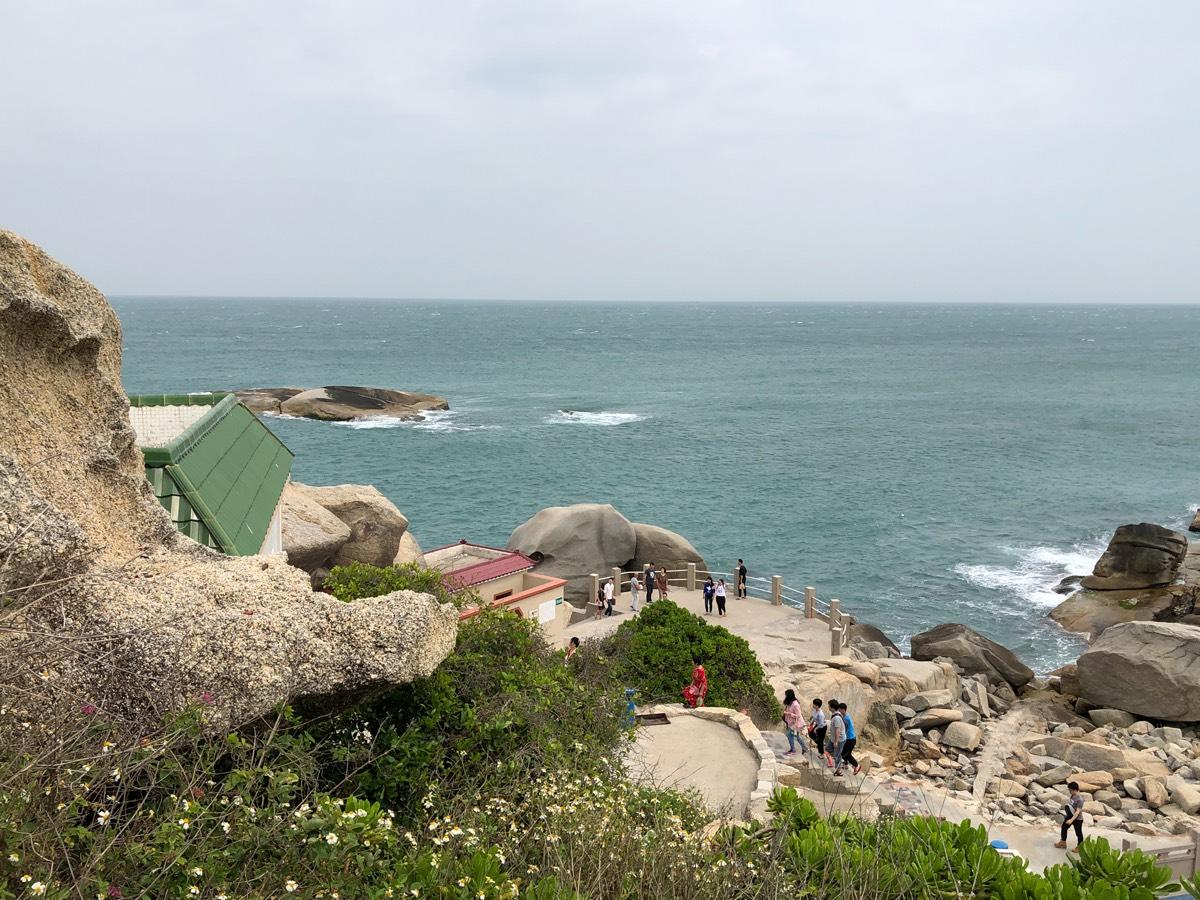 汕尾红海湾遮浪南海观世音旅游景区