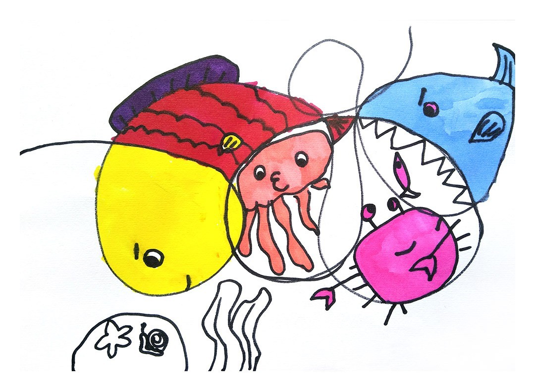 小动物绘画图片大全大图