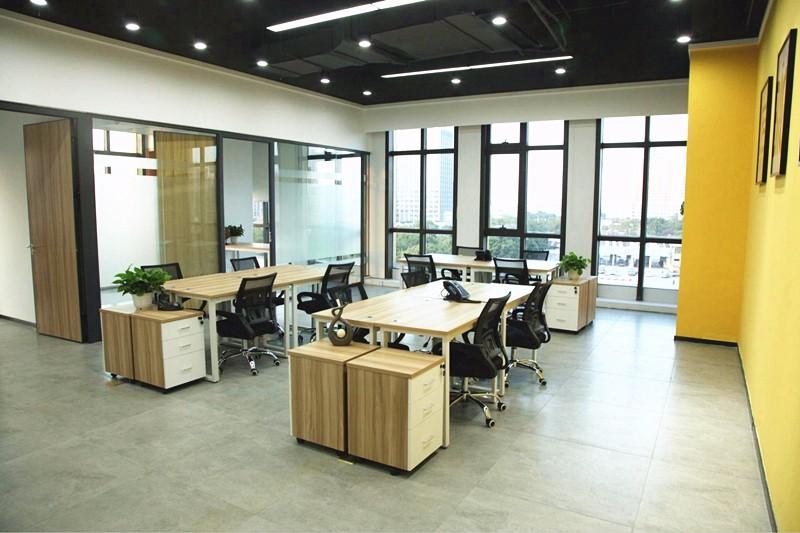 80平米辦公室設計布局