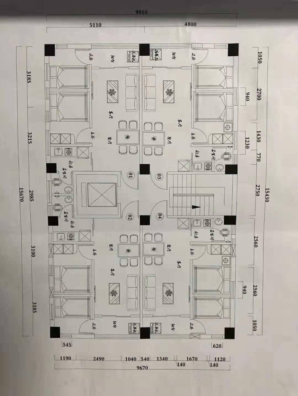 房子结构图
