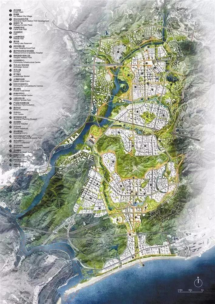 最终胜出的《共生绿都》主题方案设计图
